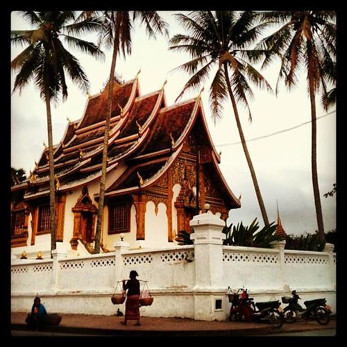Caminando por Luang Prabang #laos