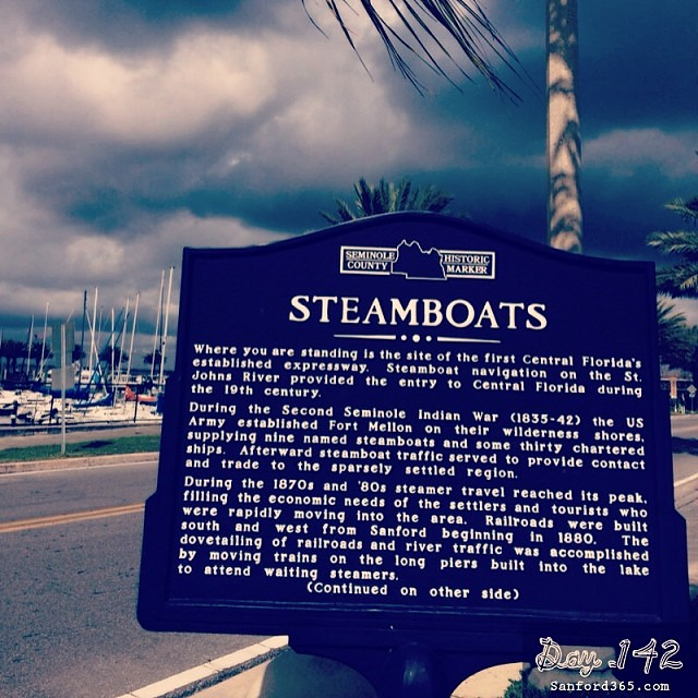 Today on the blog: learn about the steamboats of the St.Johns River #sanfordfl #lakemonroe #floridahistory