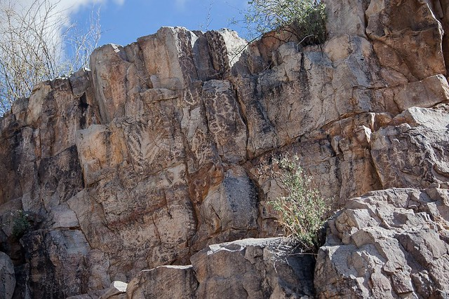 Petroglyph Canyon Wall