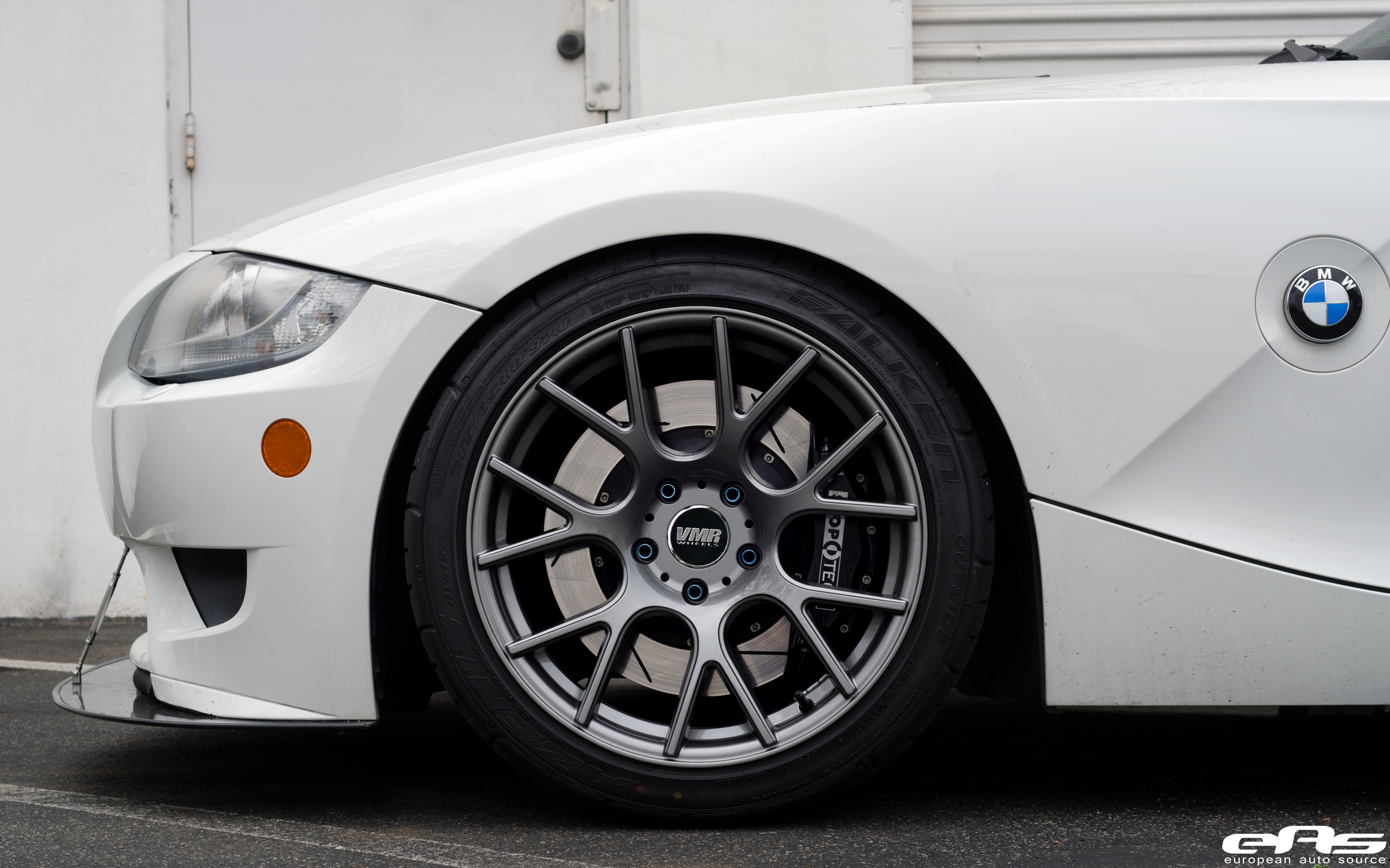 Gunmetal Vmr V810s On Our Z4m Bmw Performance Parts