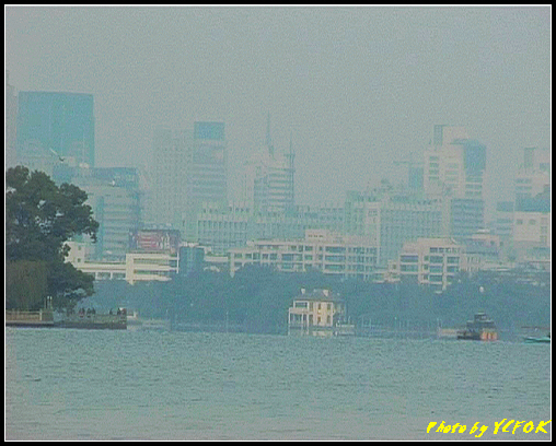 杭州 西湖 (其他景點) - 273 (在西湖十景之 蘇堤 看西湖左面是西湖十景之 平湖秋月及市區)