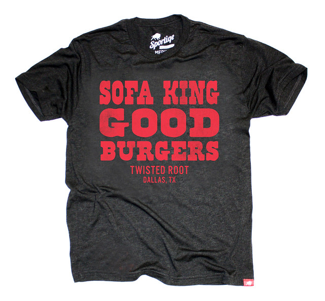 Sofa King Good Burgers T-Shirt