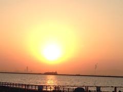 Sunrise in Rokko Island