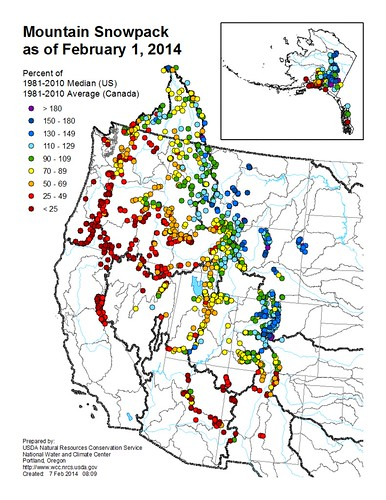 The NRCS Snow Survey Program provides mountain snowpack data and streamflow forecasts for the western United States. Common applications of snow survey products include water supply management, flood control, climate modeling, recreation, and conservation planning.