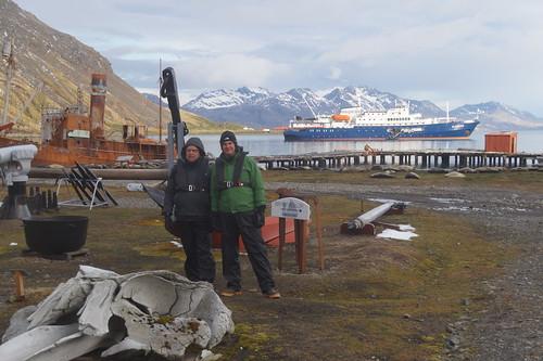 487 Samen bij Grytviken
