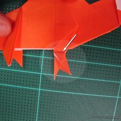 วิธีการพับกระดาษเป็นรูปไดโนเสาร์ (Origami Dinosaur) 025
