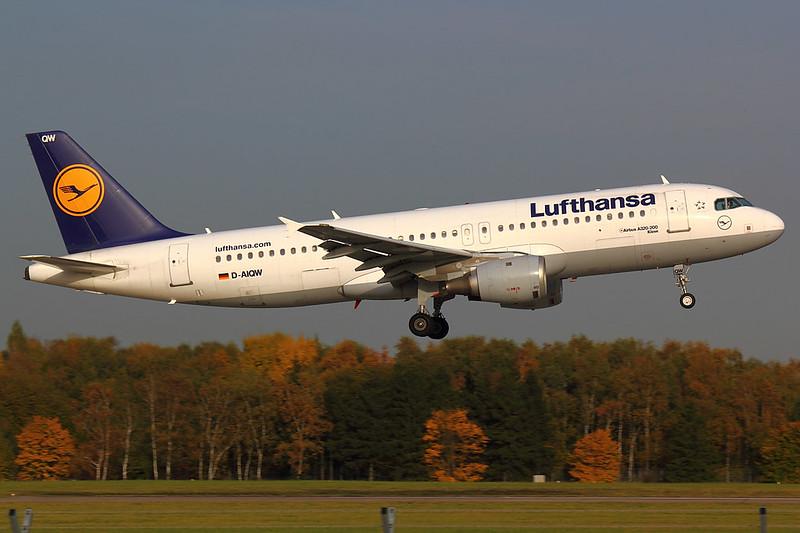 Lufthansa - A320 - D-AIQW