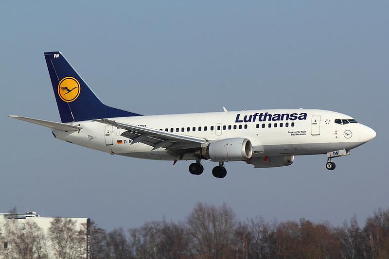 Lufthansa - B735 - D-ABIW