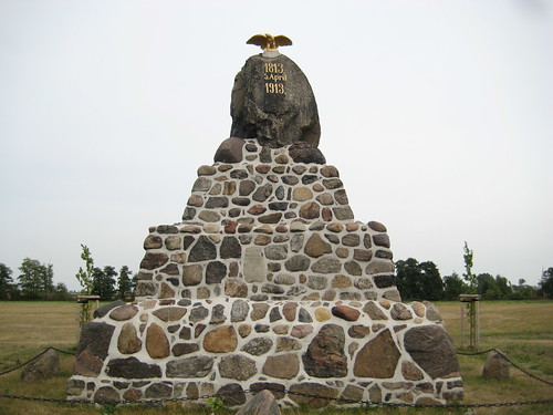 1913 Vehlitz Ehleschlacht-Denkmal 5. April 1813 südlich B246a Richtung Möckern nördlich 39291