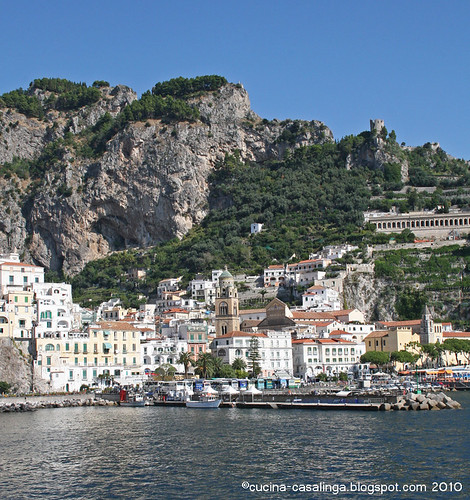 Amalfi von Westen