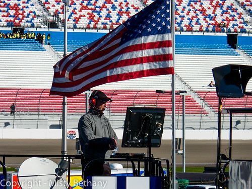 Chad Knaus and the American Flag