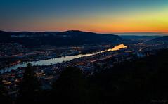 Drammen city @ night