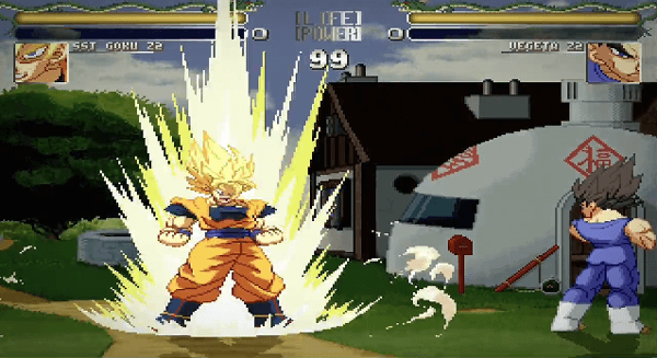 Fans Create Hyper Dragon Ball Z Fighting Game