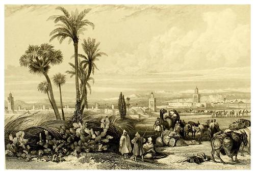 015-Paisaje de Marruecos-Picturesque views in Spain and Morocco…Tomo II-1838-David Roberts