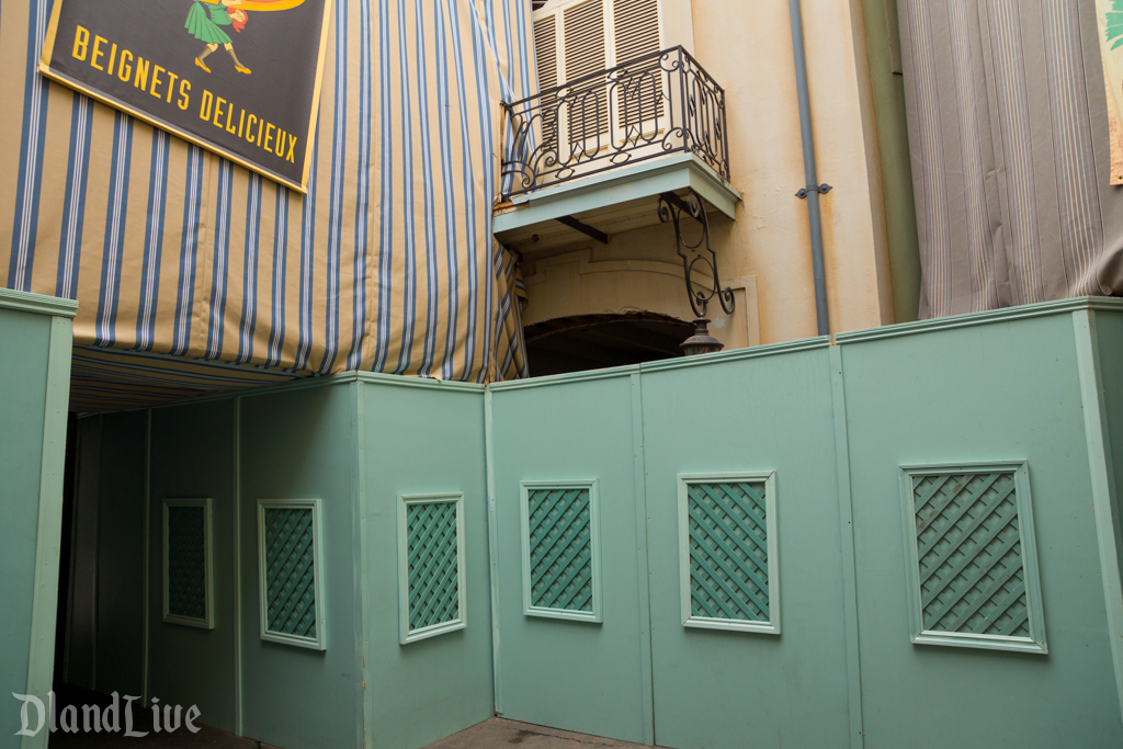 Club 33 Expansion / New Orleans Square Disneyland