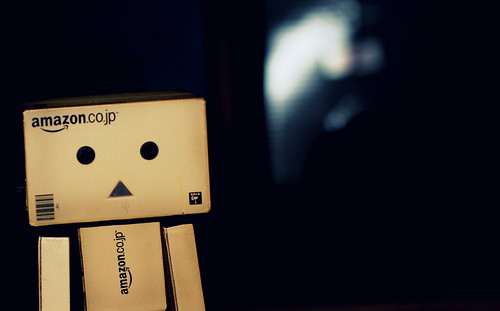Danbo at night