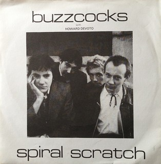 "The Buzzcocks - Spiral Scratch EP 7"" Single 45 rpm Vinyl Record"