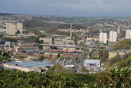 View over Dean Clough
