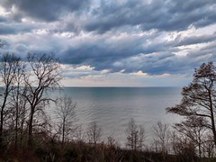 Stormy sky - Lakeshore Reservation