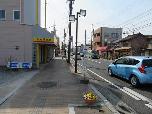 神埼市バスの神埼駅通りバス停