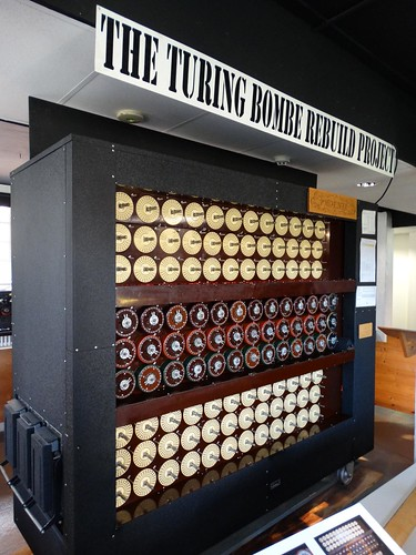 Bletchley Park Bombe Machine
