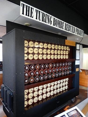 Bletchley Park Bombe Machine