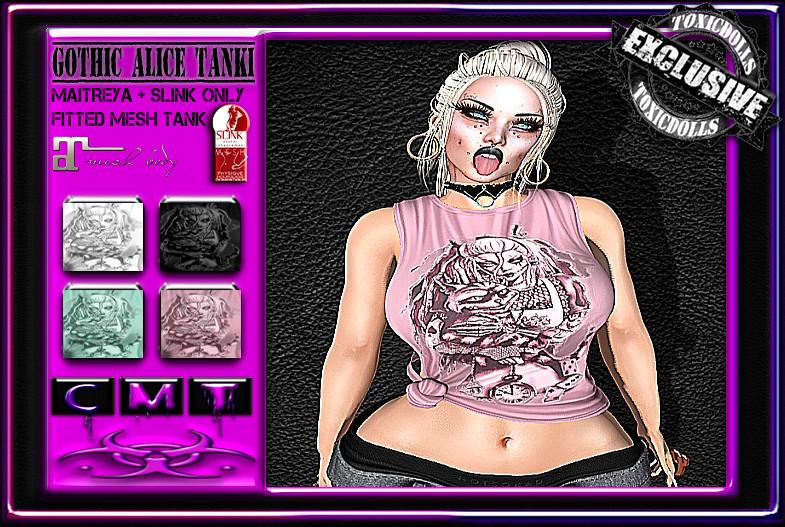 [TD} Gothic Alice Tanki - SecondLifeHub.com
