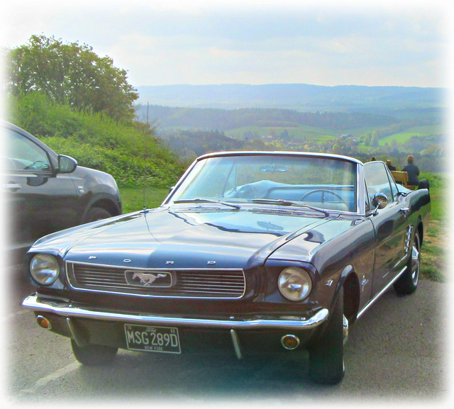 1966 Ford Mustang blues, Canon POWERSHOT SX600 HS