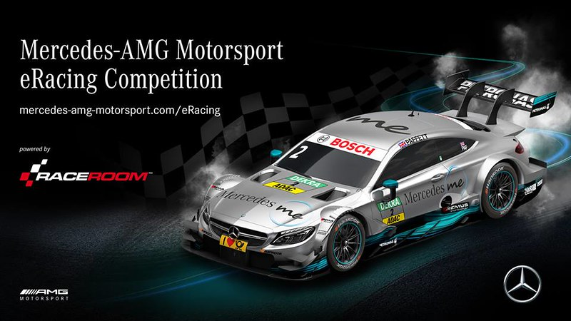 RaceRoom Mercedes-AMG DTM Motorsport eRacing Competition