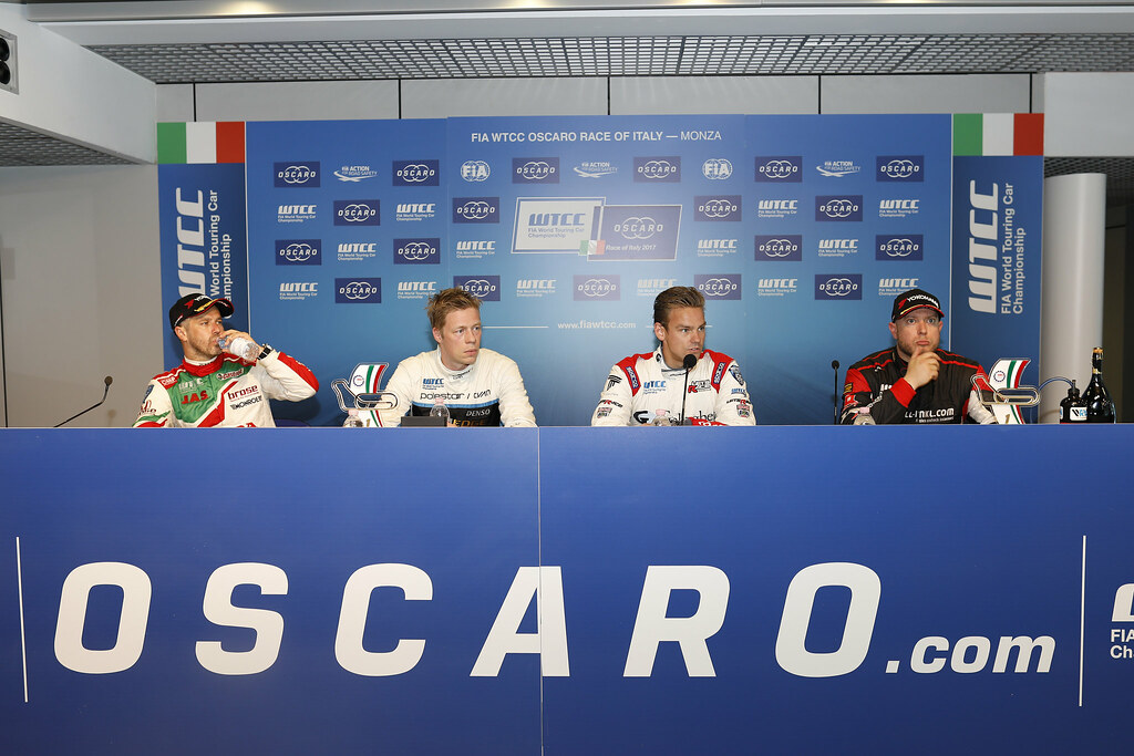 conference de presse press conference during the 2017 FIA WTCC World Touring Car Race of Italy at Monza, from April 28 to 30  - Photo Francois Flamand / DPPI