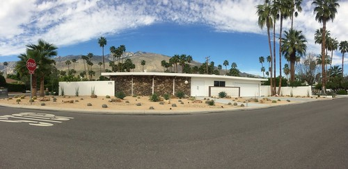 Discreet to the streets, Palm Springs, by Stewart Burgess