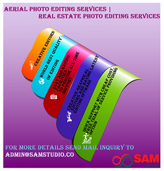 Aerial Photo Editing Services and Real Estate Photo Editing Services