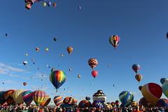 More balloons at the Albuquerque Balloon Fiesta.