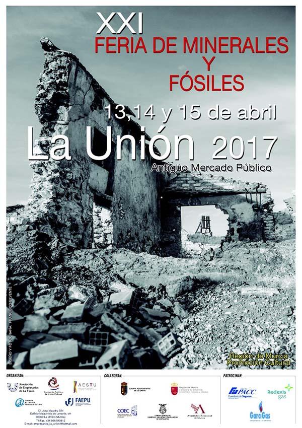 La Unión acoge la XXI Feria de Minerales y Fósiles