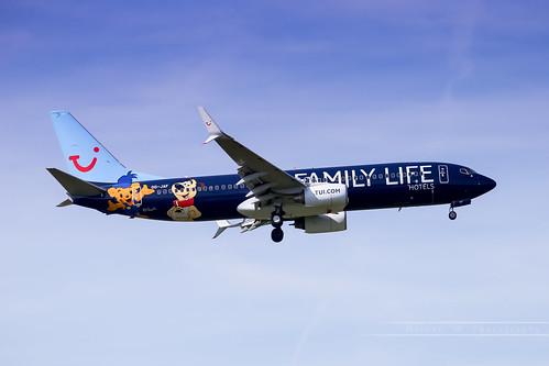, BRU – Boeing 737-8K5 (OO-JAF) TUI Airlines Belgium, Family Blog 2020, Family Blog 2020