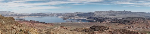 nevada bouldercity rivermountains blackmountain lakemead fortificationhill panorama pano sb2017