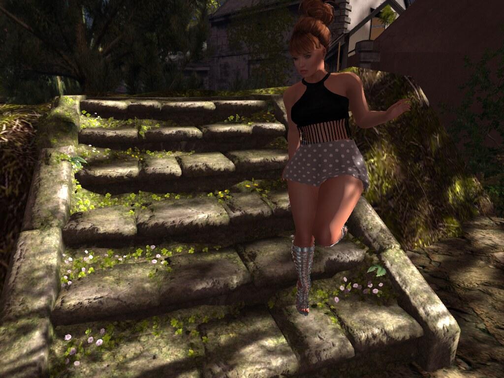 .:Lekilicious Store  Skirt   set  Mariane                                                                                                                                                                ~.:Lekilicious Store:.~ Sandal Cristine Silver  Exclus - SecondLifeHub.com