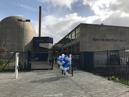 Heliumballonnen TU Delft