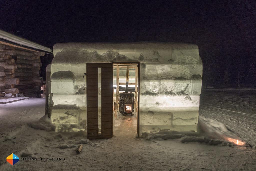 Ice Sauna Outside