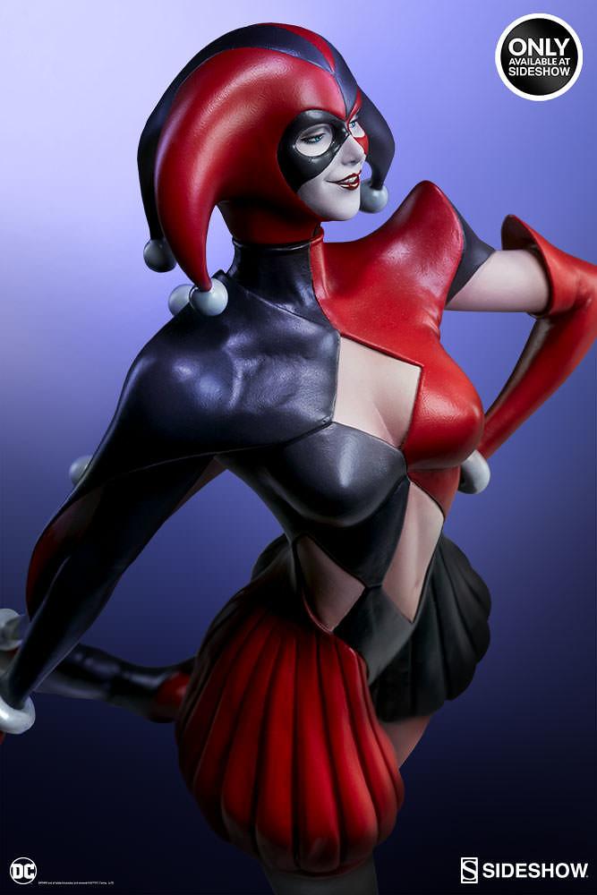 Sideshow Collectibles 【小丑女】 Harley Quinn 1/5 比例全身雕像作品 性感登場!