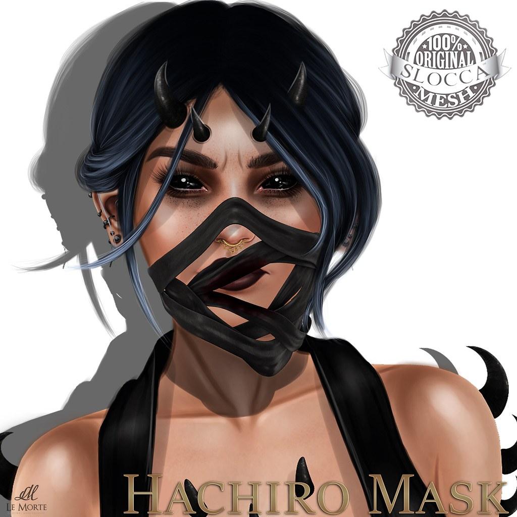 Le Morte - Hachiro Mask - SecondLifeHub.com