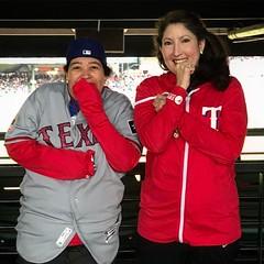 Holy crap it's #cold #rangersscoreboard #rangers #baseball #texasrangersbaseball #baseball