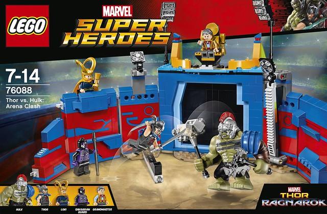 76088 Thor vs Hulk Arena Clash