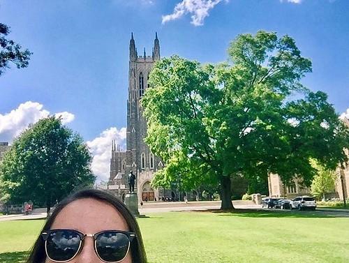 Thanks for the joy, Duke. See ya soon! #pictureduke #dukeuniversity #summerbreak // PC: @katiecassedy