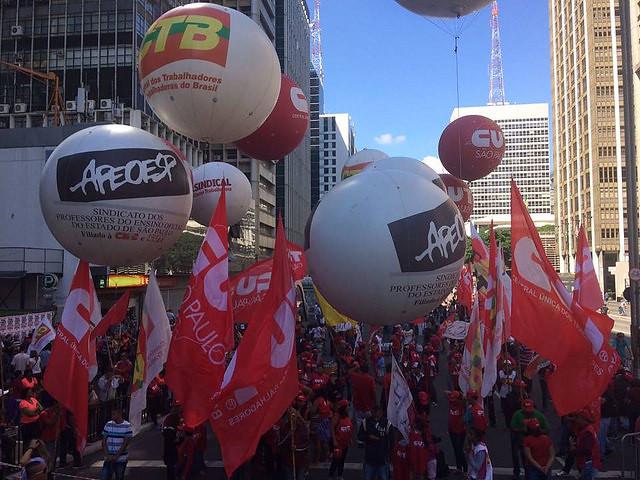 Manifestación del Día de la Trabajadora y del Trabajador en São Paulo - Créditos: Rute Pina