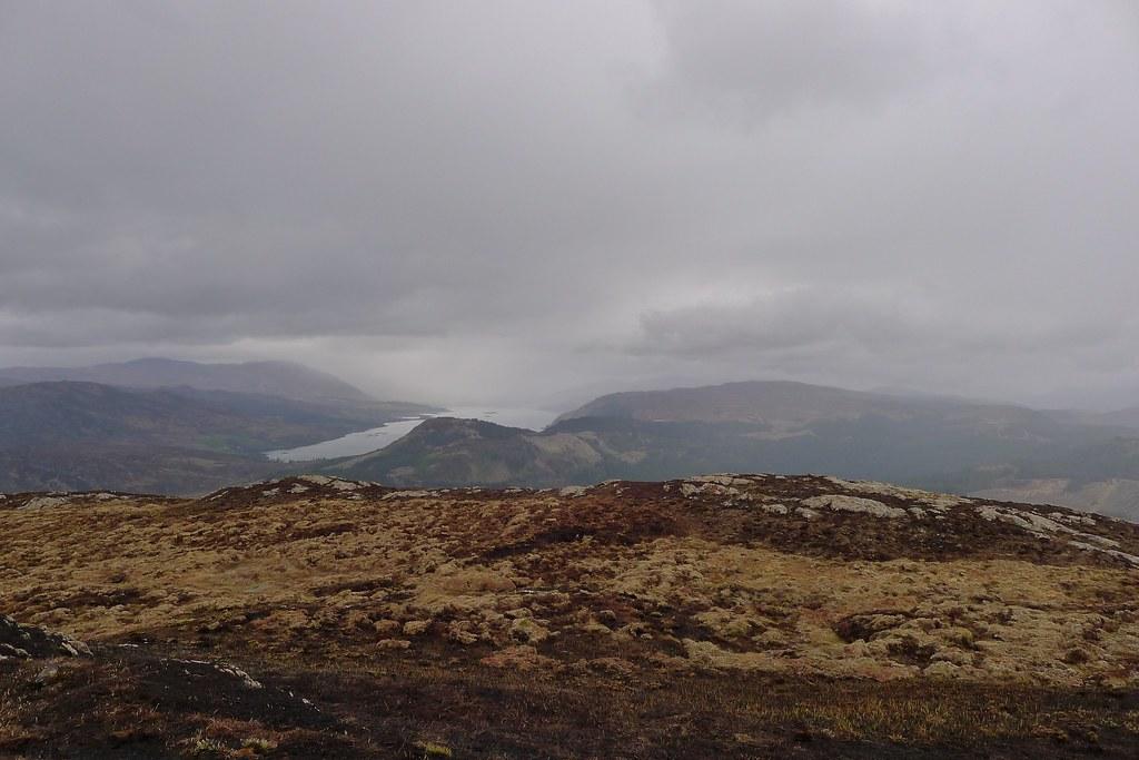 Loch Carron from Beinn Raimh