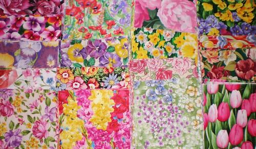 Flower Charm Squares