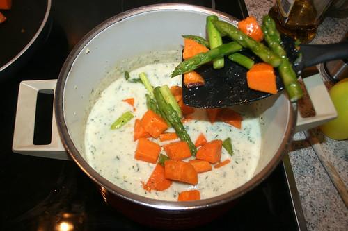 46 - Gemüse hinzufügen / Add vegetables