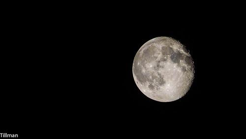 moon night northcarolina shelby gibbous waning waninggibbous