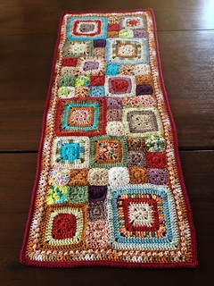 Babette Inspired Crochet Table Runner